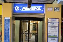 Budova MEDISPOL hlavní vchod